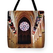 Inside The National Cathedral Tote Bag