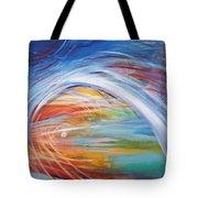 Inside The Rainbow Tote Bag
