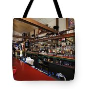 Inside The Tow Bar Tote Bag