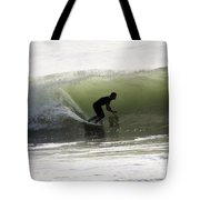 Inside The Wave Tote Bag