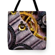 Inside Time Tote Bag