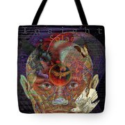 Insight To Speak Of..  Solar Tote Bag by Joseph Mosley