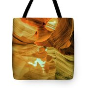 Insignificance Of Man Tote Bag