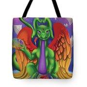Inspiration Dragon Tote Bag