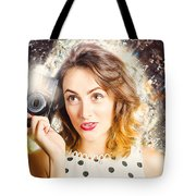 Inspiration Of A Creative Pinup Photographer  Tote Bag