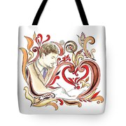 Inspiration Of The Artist Tote Bag