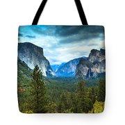 Inspiration Point Yosemite Tote Bag