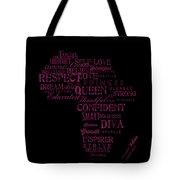 Inspirational African American Girl Tote Bag