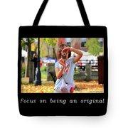 Inspirational- Focus Tote Bag
