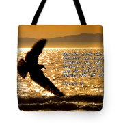 Inspirational - On The Move Tote Bag