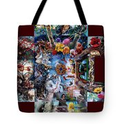 Inspireation With Walls Tote Bag