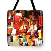 Inspired By Picasso Tote Bag