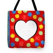 Insta Heart Tote Bag