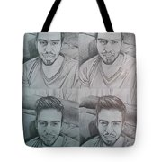 Instagram Portrait Tote Bag