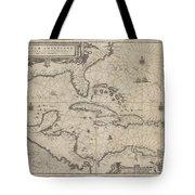 Insulae Americanae In Oceano Septentrionale Tote Bag