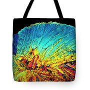 Insulin Crystals Light Micrograph Tote Bag
