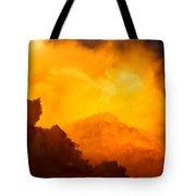 Intense Clouds 01 Tote Bag