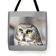 Intense Look Tote Bag