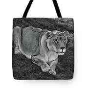 Intensity 3 Bw Tote Bag