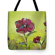 Intensity Of The Poppy II Tote Bag