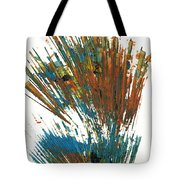 Intensive Abstract Expressionism Series 64.102511 Tote Bag