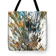 Intensive Abstract Painting 519.112011 Tote Bag