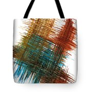 Intensive Abstract Painting 710.102610 Tote Bag