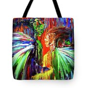 Inter-dimensional Beings Tote Bag