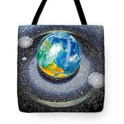Interactive Space Tote Bag