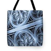 Interchange Cyanotype Tote Bag