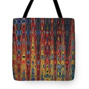 Interesting Abstract Tote Bag