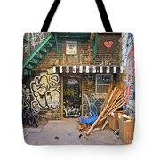 Interesting Backdoor Tote Bag