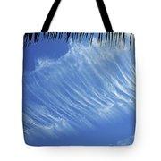 Interesting Clouds Over Phoenix Arizona Tote Bag