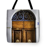 Interesting Door Tote Bag
