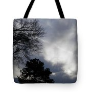 Interesting Georgia Stormy Morning Tote Bag