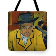 Interesting Man Tote Bag