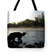 Interesting Mississippi River Dawn Tote Bag