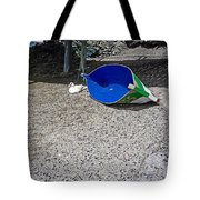 Interior Blue Tote Bag