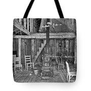 Interior Criterion Hall Saloon - Montana Territory Tote Bag by Daniel Hagerman