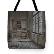 Interior Furniture Atmosphere Of Abandoned Places Dig Photo Tote Bag by Enrico Pelos