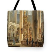 Interior Of The Franciscan Church Salzburg Tote Bag