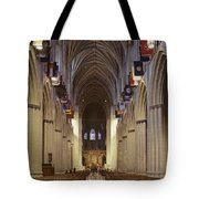 Interior Of The National Cathedral Tote Bag
