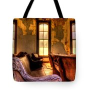 Interior Old Church Tote Bag