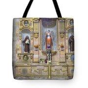 Interior View Of Church In Guanajuato Mexico Tote Bag