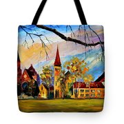 Interlaken Switzerland Tote Bag