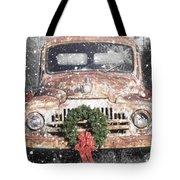 International Christmas Snow Tote Bag