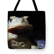 Interrogation Of A Toad Tote Bag