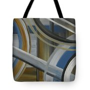 Intersection In Blue 2 Tote Bag