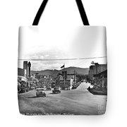 Intersection Of Alvarado And Calle Principal St.s, Monterey Circa 1940 Tote Bag