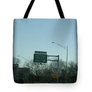 Interstate 70 East At Exit 242b, Jennings Sta. Rd North Exit, 1999 Tote Bag